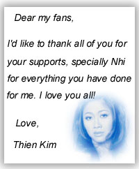 Message from Thien Kim